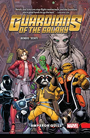 Guardians of the Galaxy: New Guard Tome 1: Emperor Quill