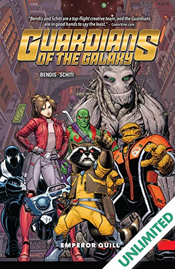Guardians of the Galaxy: New Guard Vol. 1: Emperor Quill