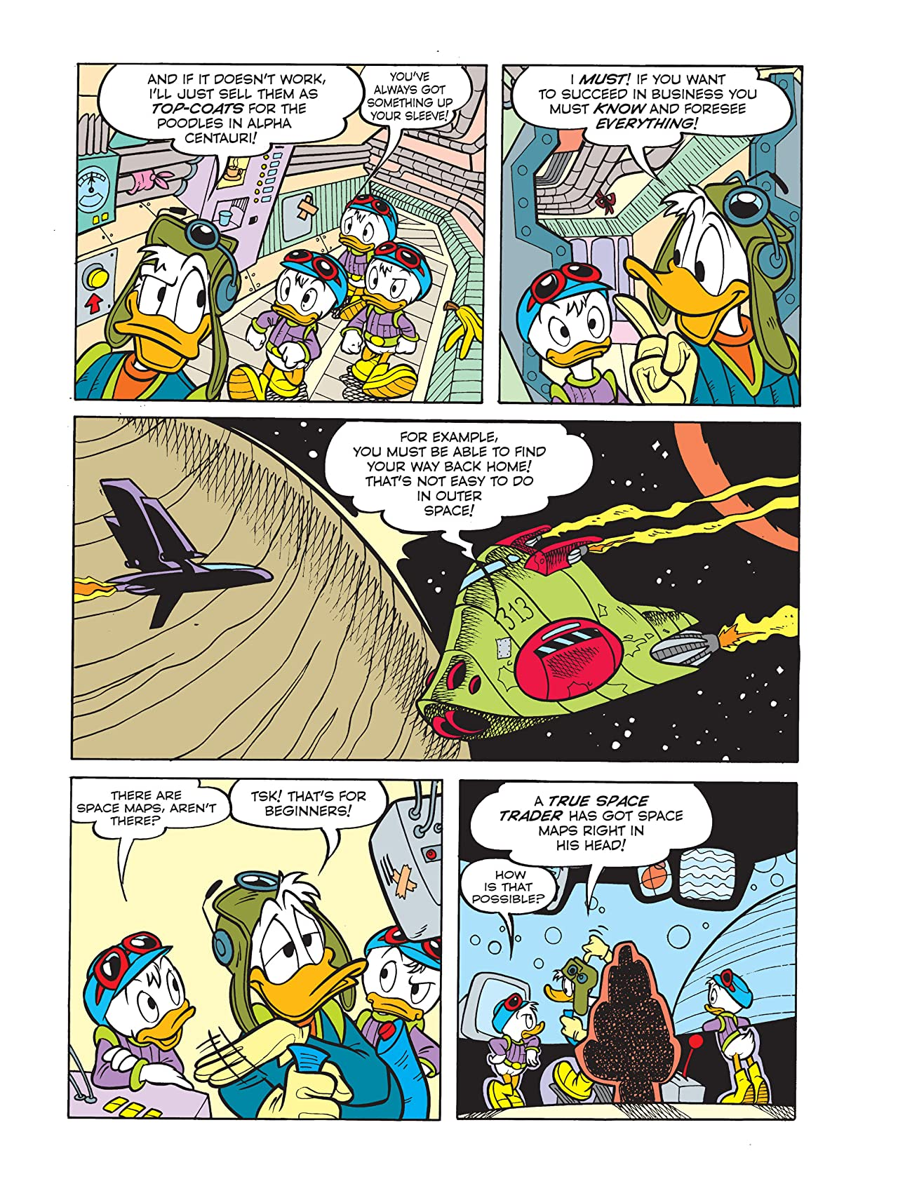 Ducks in Space: Voyage Home/Donald Duck and the Dragon of the Eastern Valley/Donald Duck and the Out-Of-This-World Diet