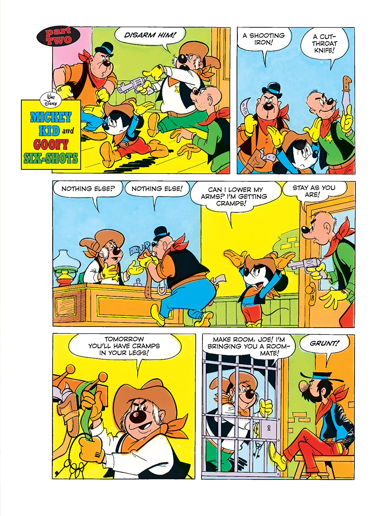 Mickey Kid and Goofy Six-Shots #2