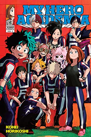 My Hero Academia Tome 4