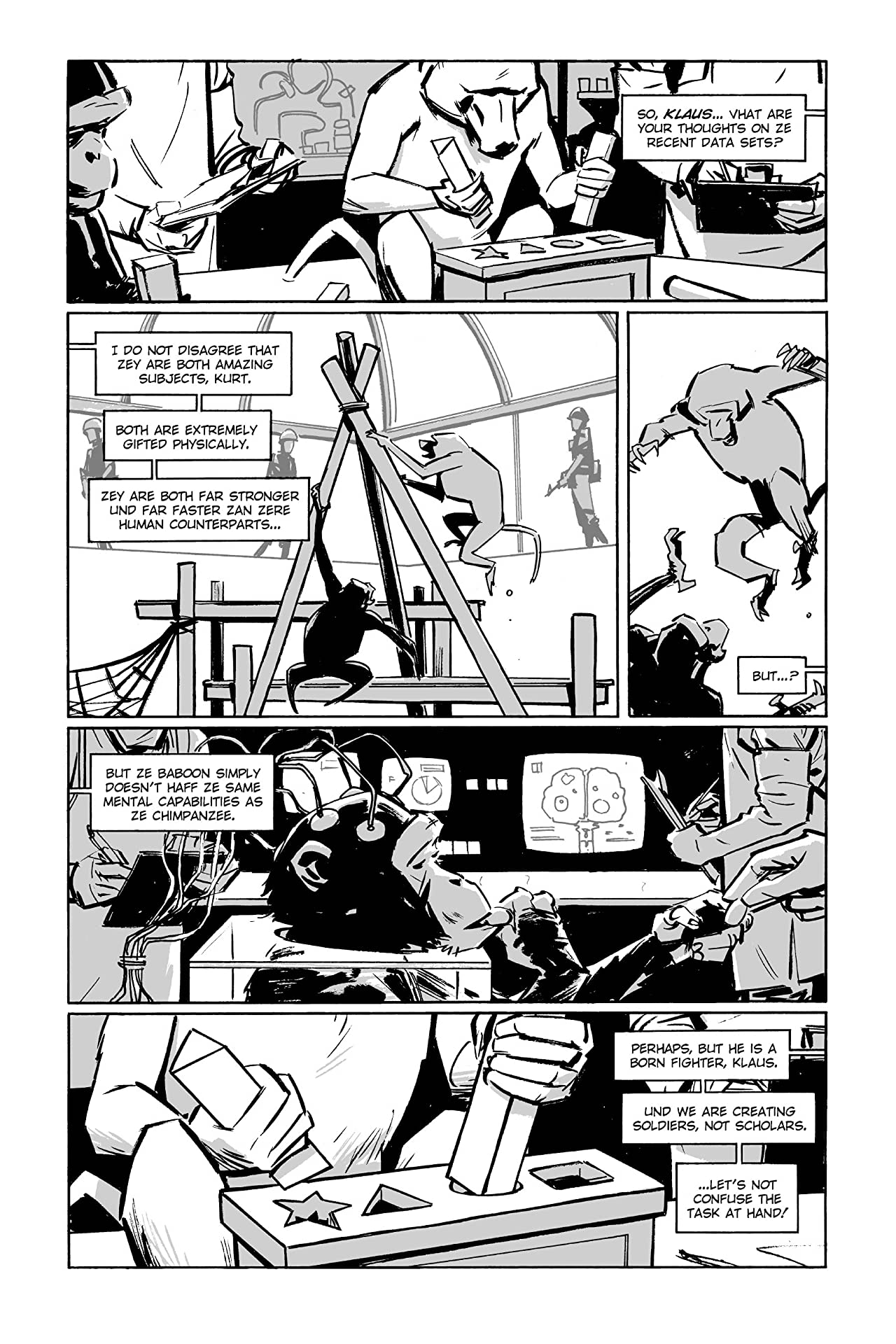 Guerillas Vol. 3: Chapter 3