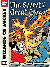 Wizards of Mickey #3: The Secret of the Great Crown