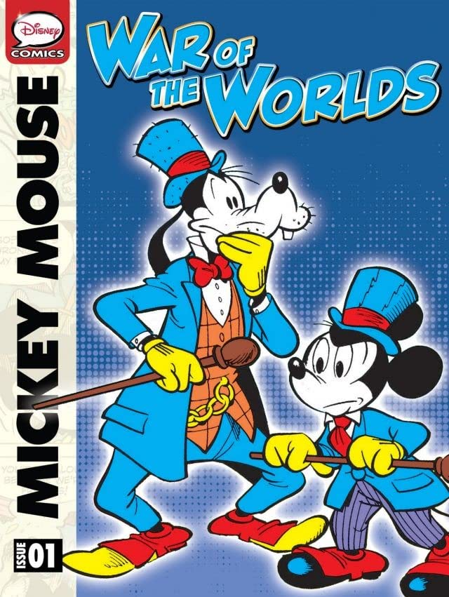 """Mickey Mouse in """"War of the Worlds"""""""