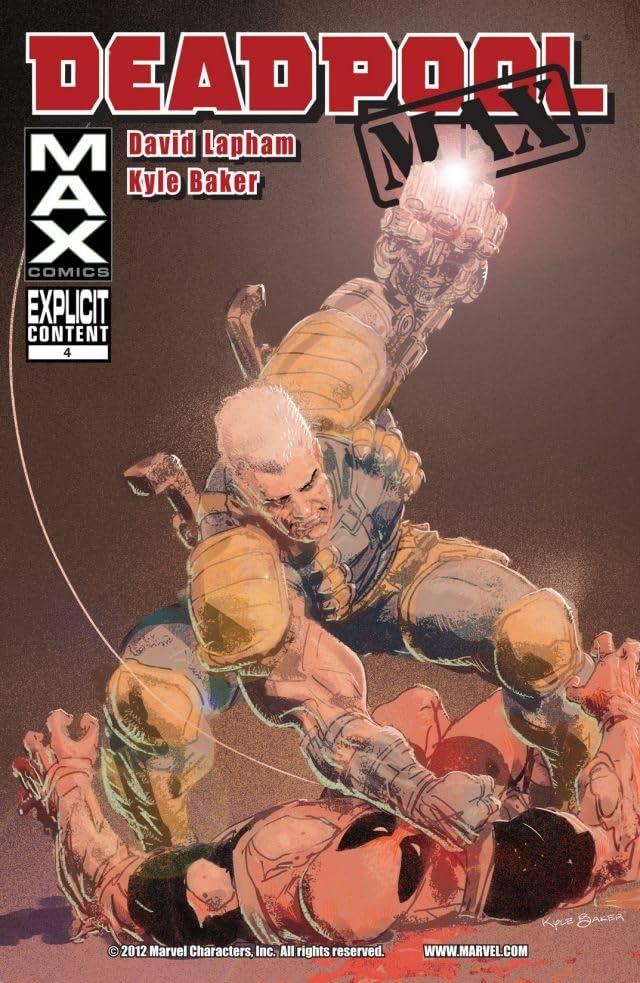 Deadpool Max #4
