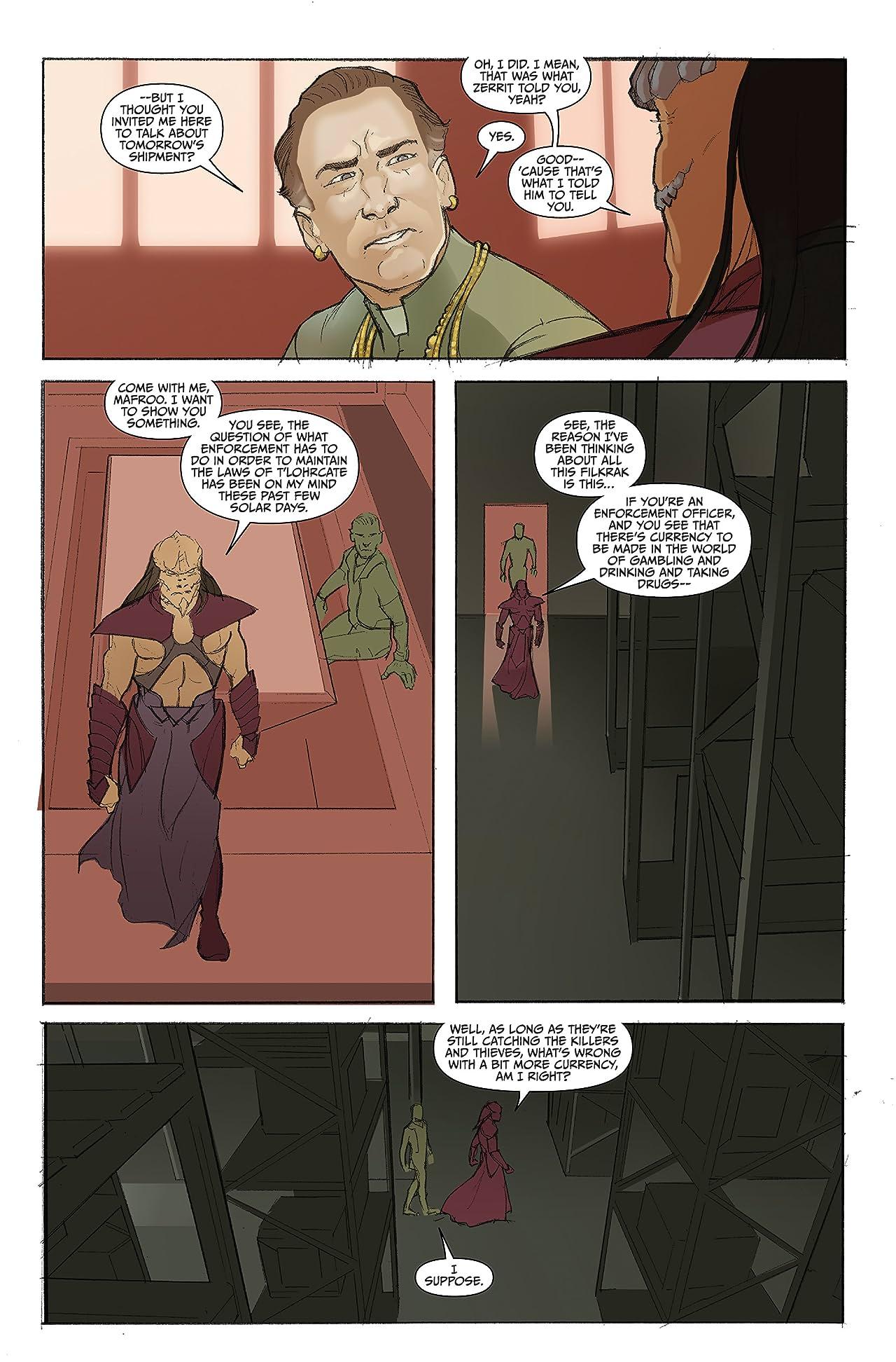 Farscape: Uncharted Tales Vol. 3: D'Argo's Quest #1 (of 4)