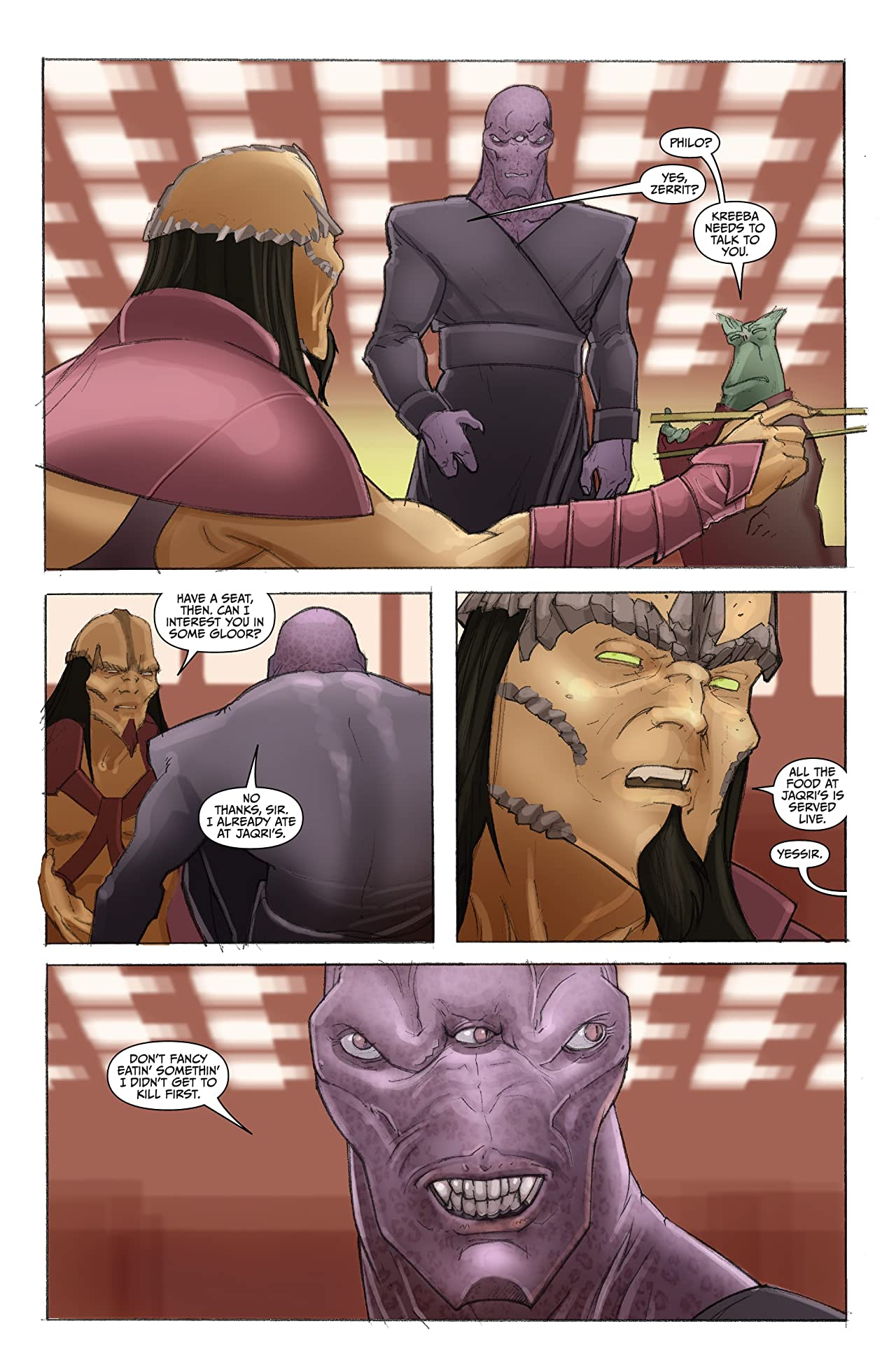 Farscape: Uncharted Tales Vol. 3: D'Argo's Quest #2 (of 4)