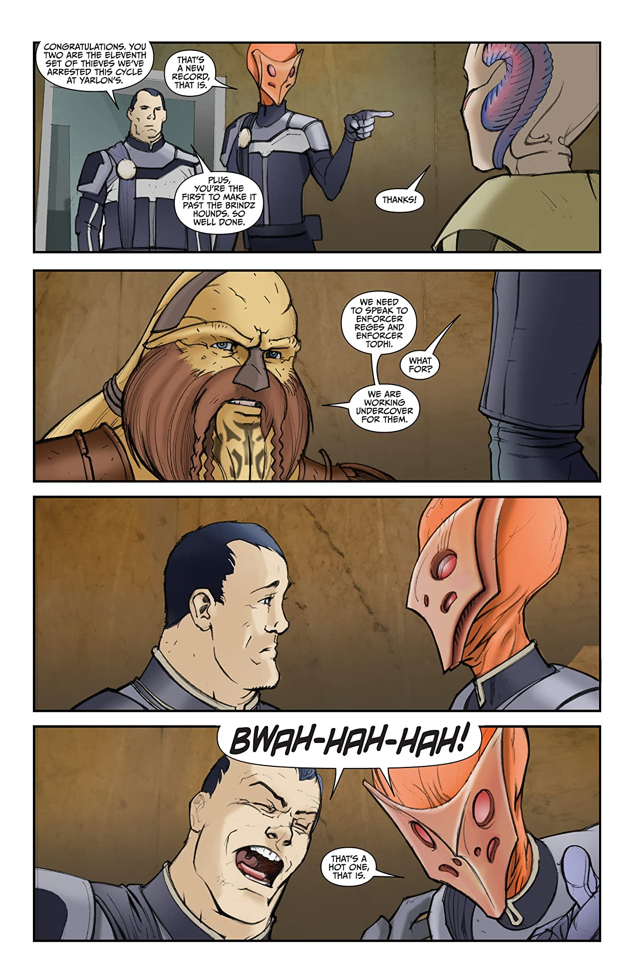 Farscape: Uncharted Tales Vol. 3: D'Argo's Quest #4 (of 4)