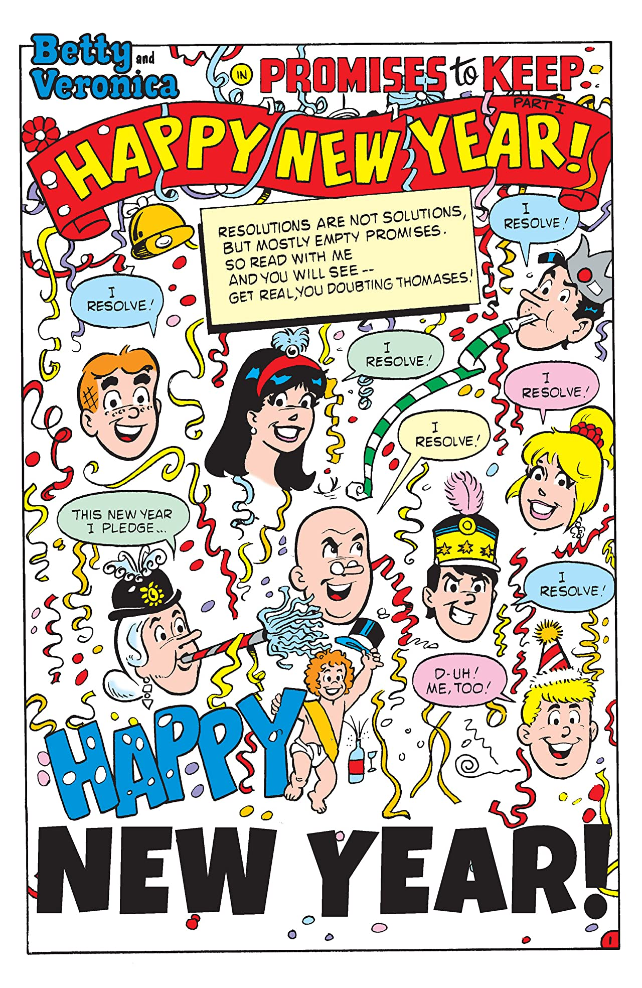 PEP Digital #36: Betty & Veronica New Year's Resolutions!