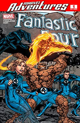 Marvel Adventures Fantastic Four (2005-2009) #1