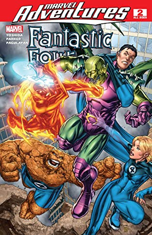 Marvel Adventures Fantastic Four (2005-2009) #2