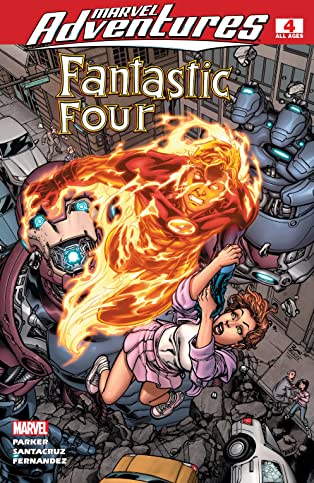 Marvel Adventures Fantastic Four (2005-2009) #4