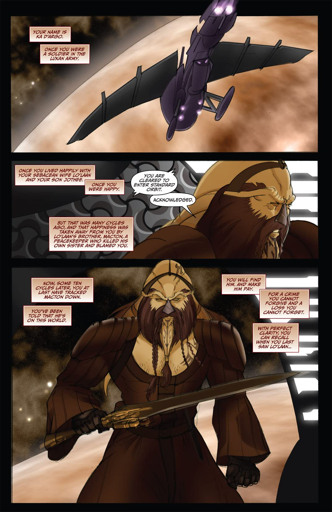 Farscape: Uncharted Tales Vol. 2: D'Argo's Trial #3 (of 4)