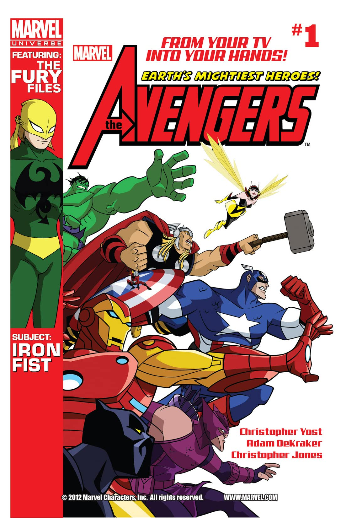 Marvel Universe Avengers: Earth's Mightiest Heroes (2012-2013) #1