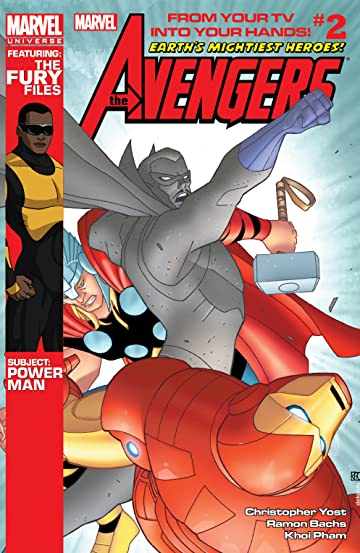Marvel Universe Avengers: Earth's Mightiest Heroes (2012-2013) #2