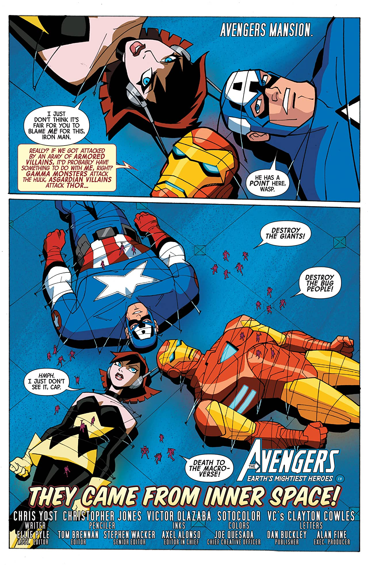 Marvel Universe Avengers: Earth's Mightiest Heroes (2012-2013) #7