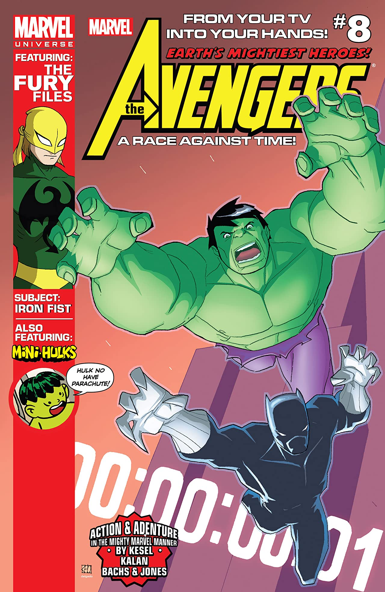 Marvel Universe Avengers: Earth's Mightiest Heroes (2012-2013) #8