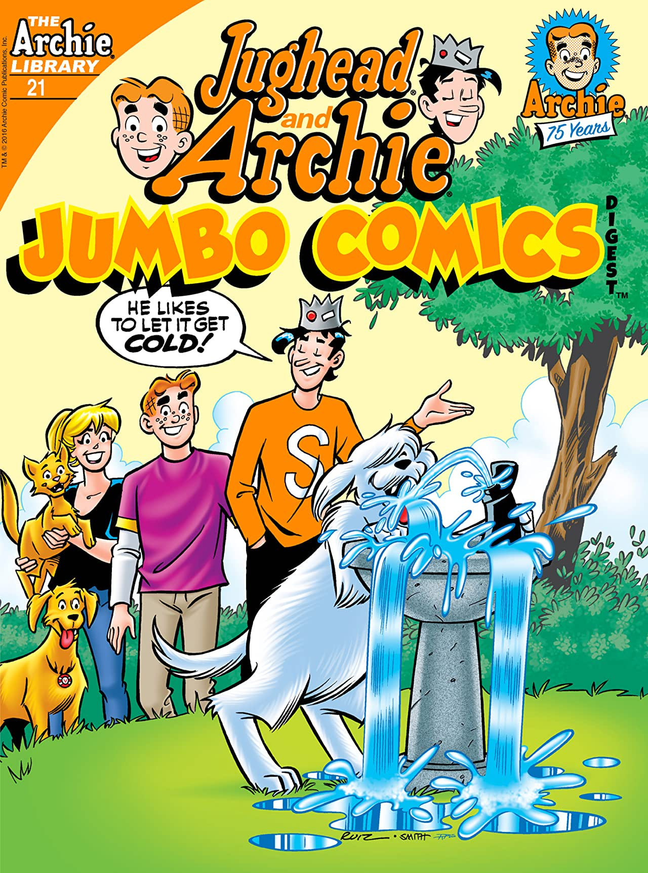 Jughead and Archie Comics Double Digest #21