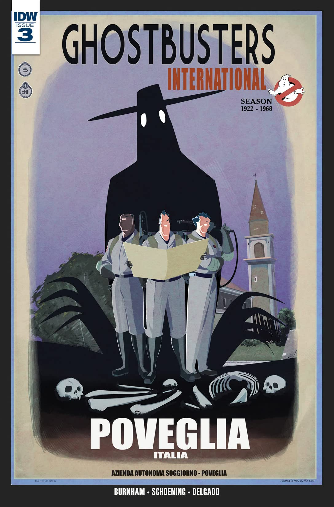 Ghostbusters International #3 (of 4)