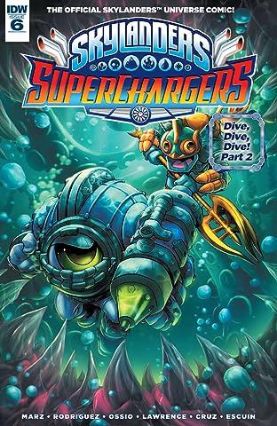 Skylanders: Superchargers No.6