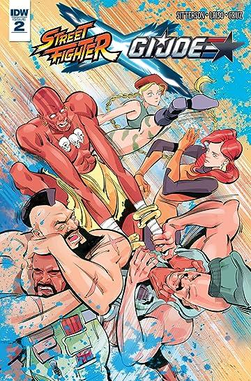 Street Fighter x G.I. Joe #2 (of 6)
