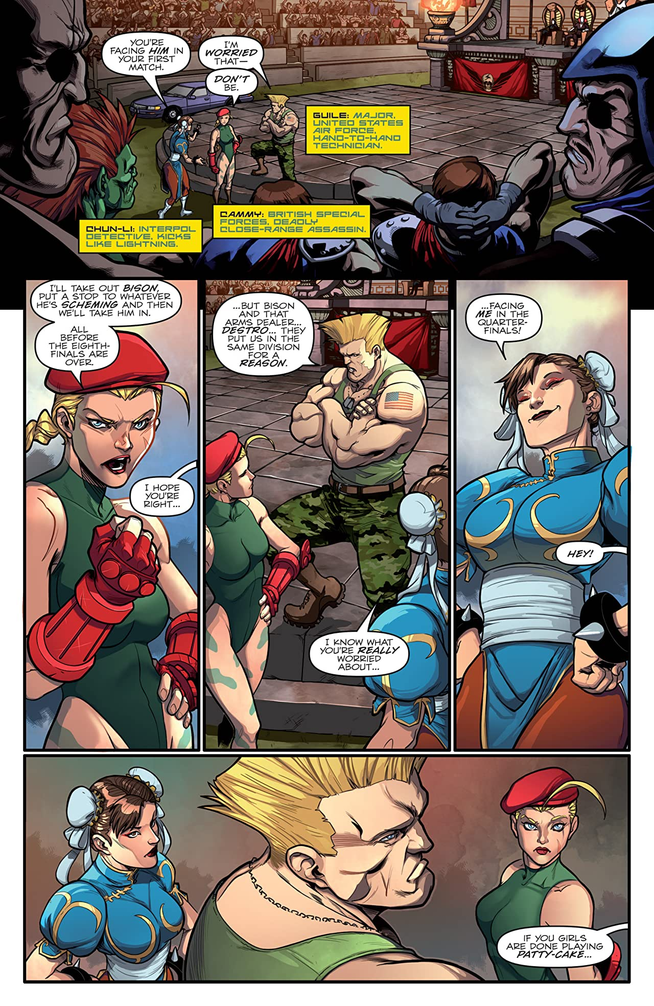 Street Fighter x G.I. Joe #2 (of 6)