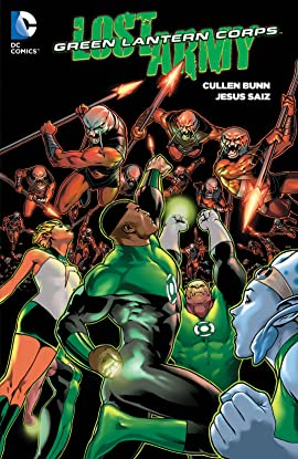 Green Lantern Corps: Lost Army (2015) Vol. 1