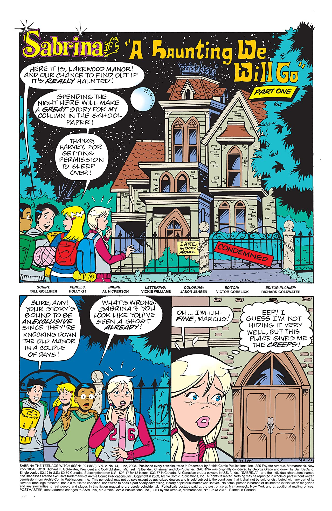 Sabrina the Teenage Witch #44