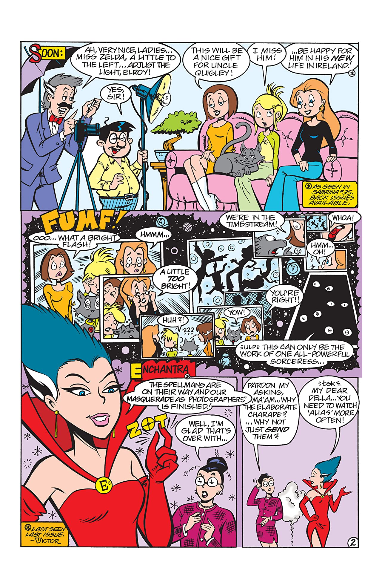 Sabrina the Teenage Witch #38