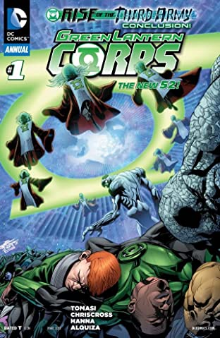 Green Lantern Corps (2011-2015): Annual No.1