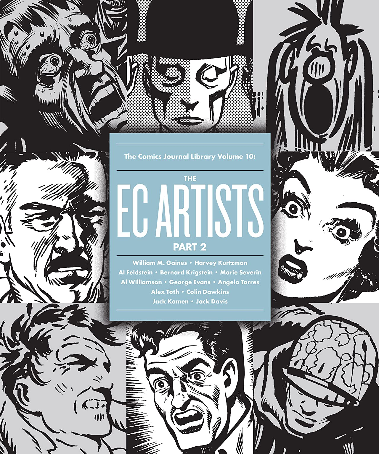The Comics Journal Library Vol. 10: The EC Artists Part 2