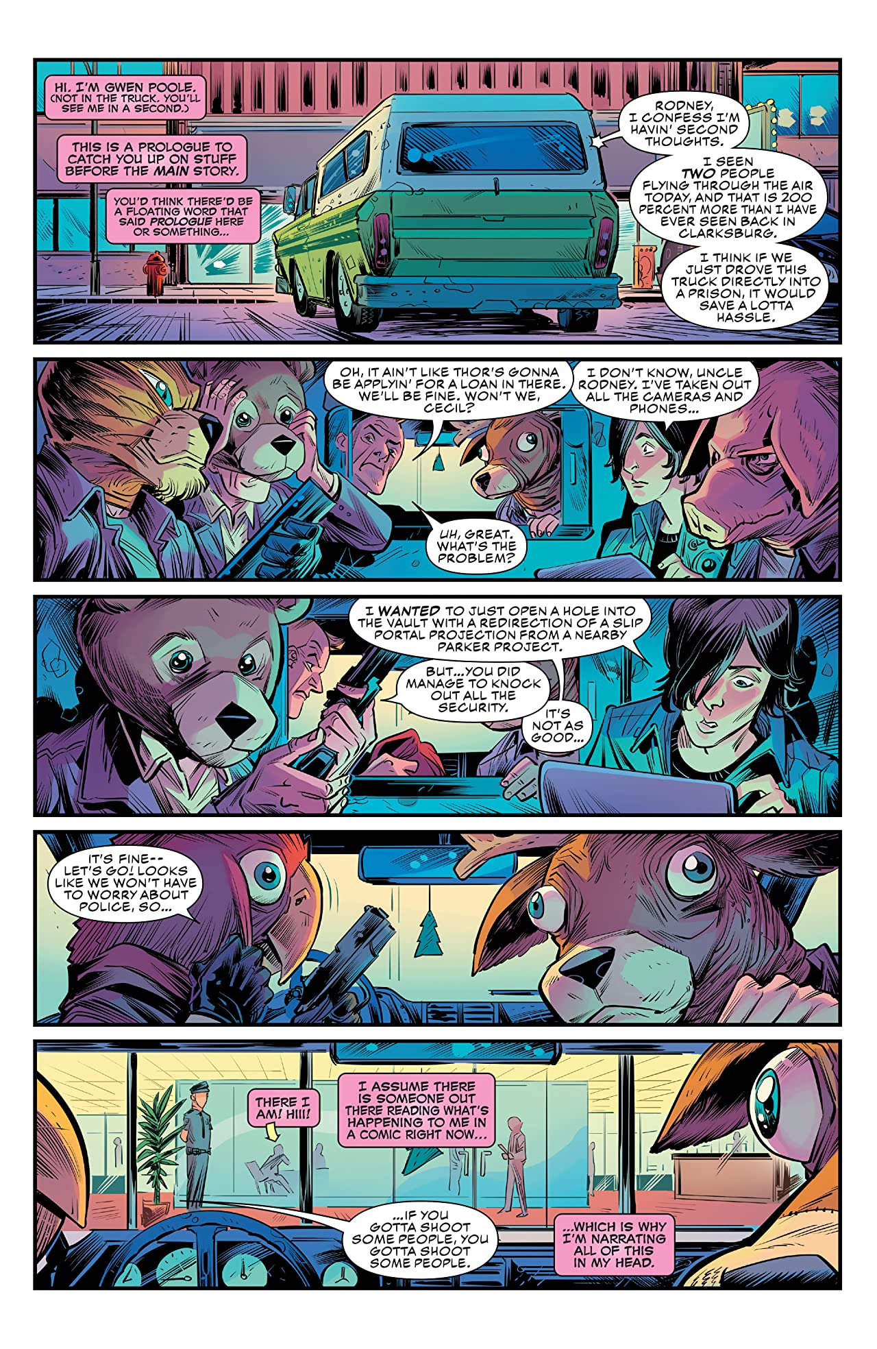 Gwenpool, The Unbelievable (2016-) #1