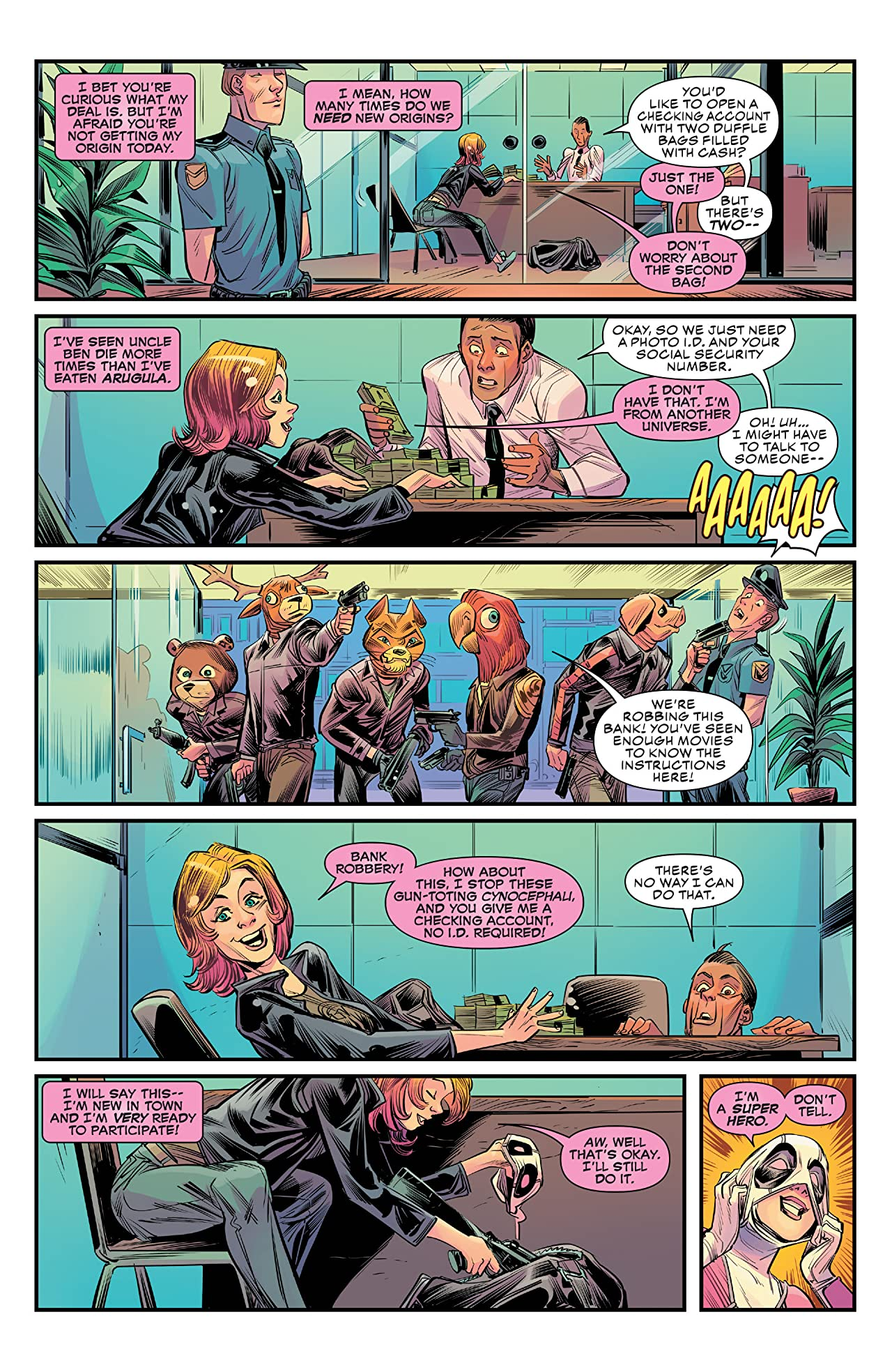 Gwenpool, The Unbelievable (2016-2018) #1