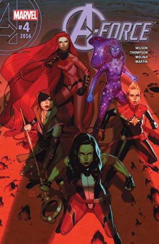 A-Force (2016-) #4