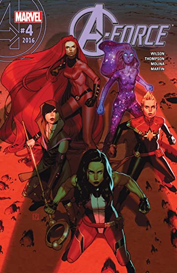 A-Force (2016) #4