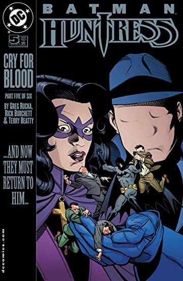 Batman/Huntress: Cry For Blood (2000) #5 (of 6)
