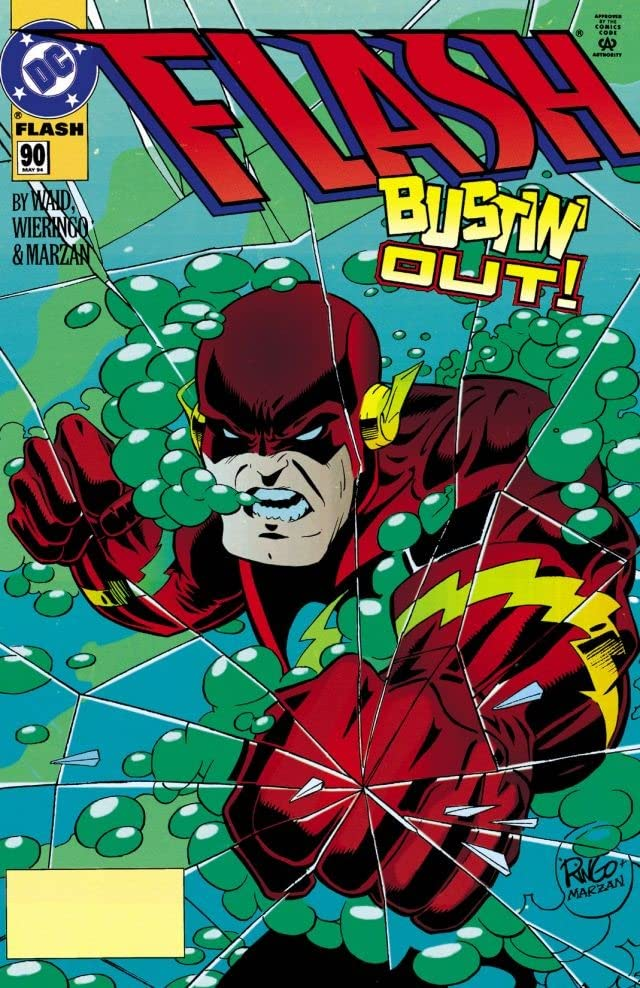 The Flash (1987-2009) #90
