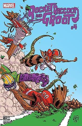Rocket Raccoon and Groot (2016) #4