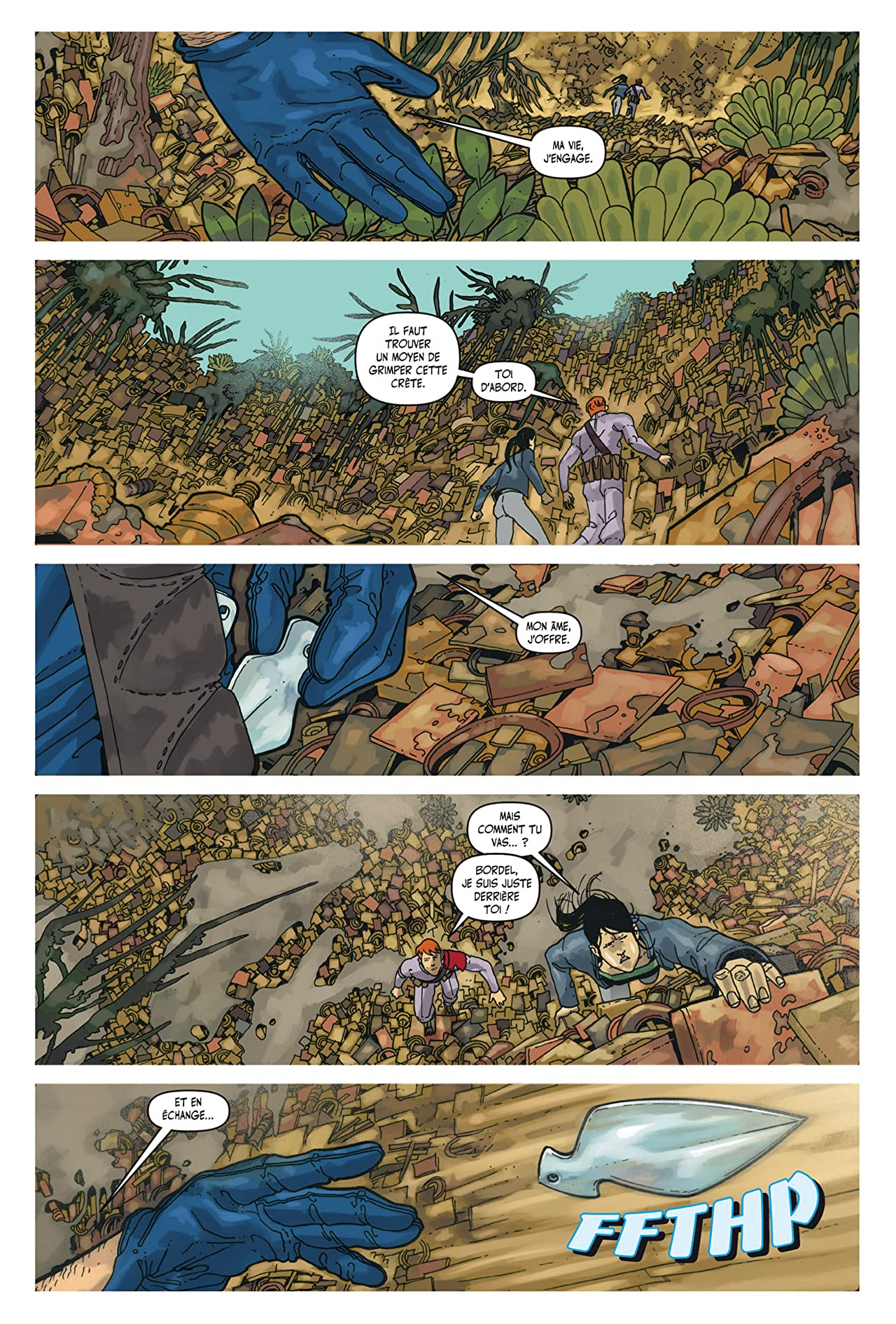Great Pacific: Chapitre 18