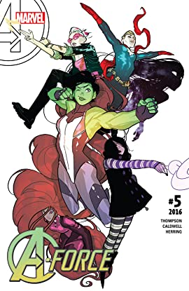 A-Force (2016) No.5