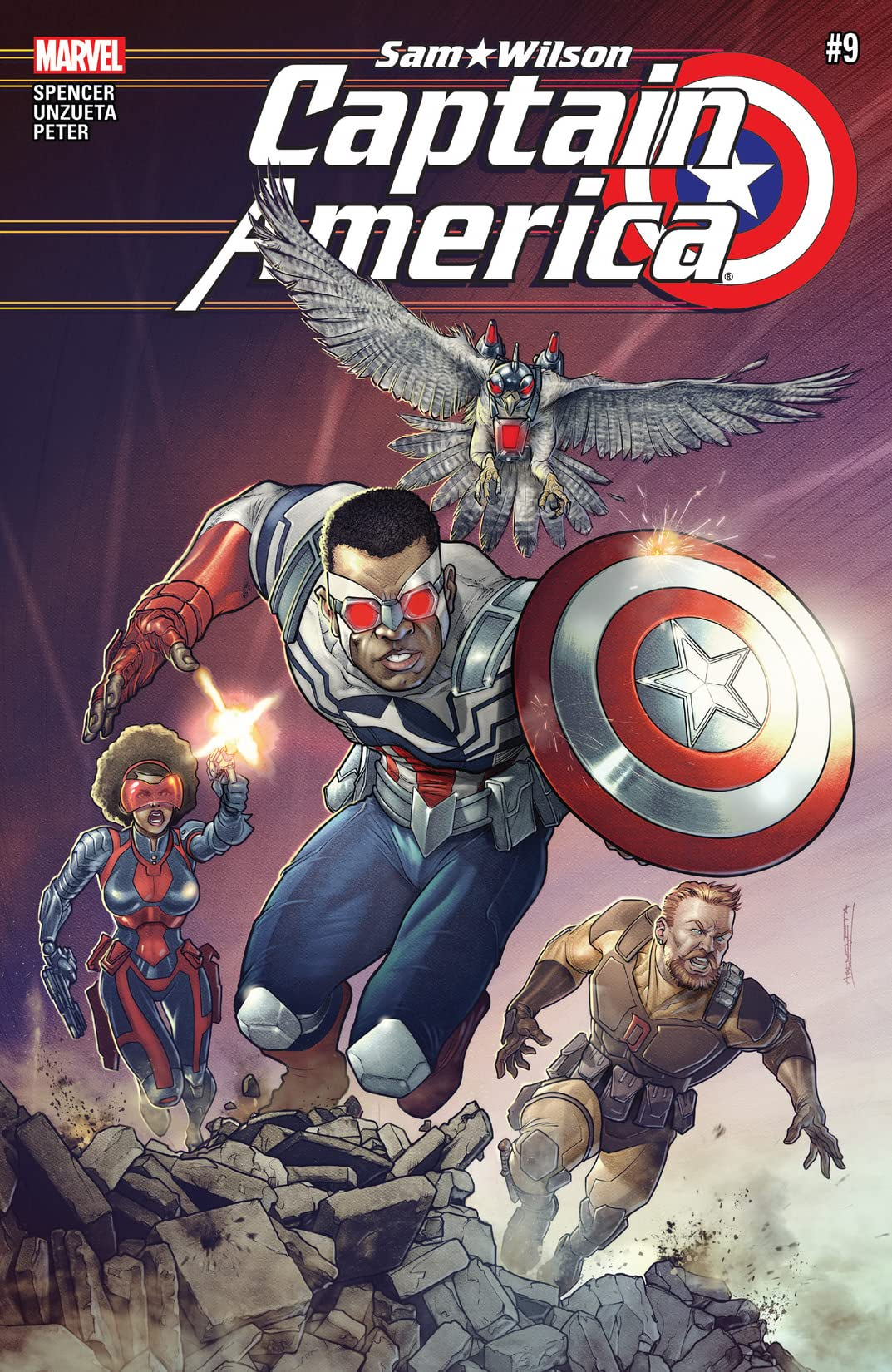 Captain America: Sam Wilson (2015-2017) #9