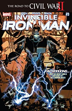 Invincible Iron Man (2015-2016) #9