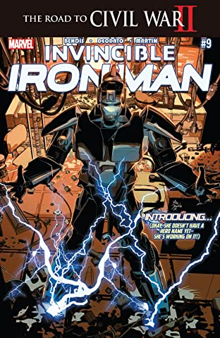 Invincible Iron Man (2015-) #9