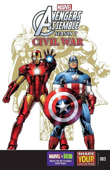 Marvel Universe Avengers Assemble: Civil War (2016) #3