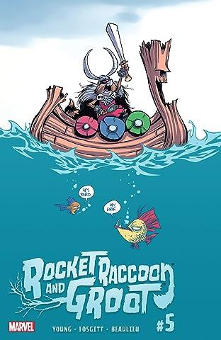 Rocket Raccoon and Groot (2016) #5