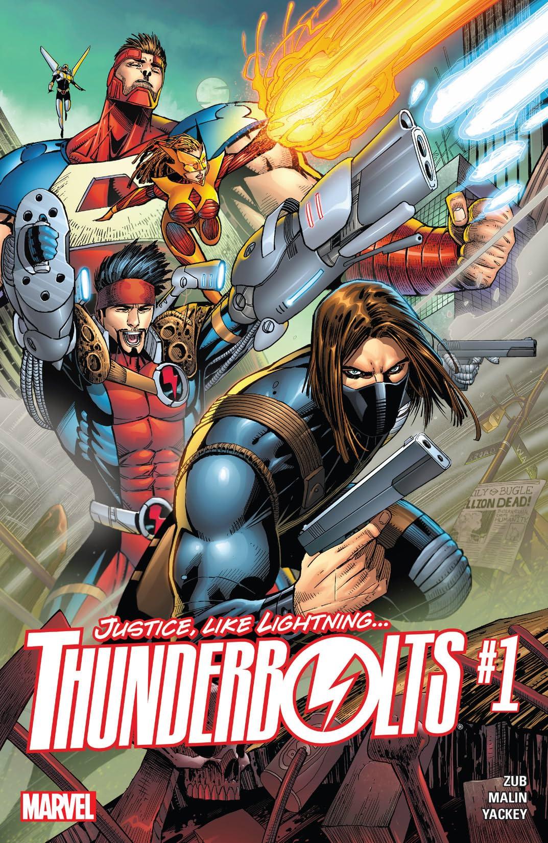 Thunderbolts (2016-2017) #1