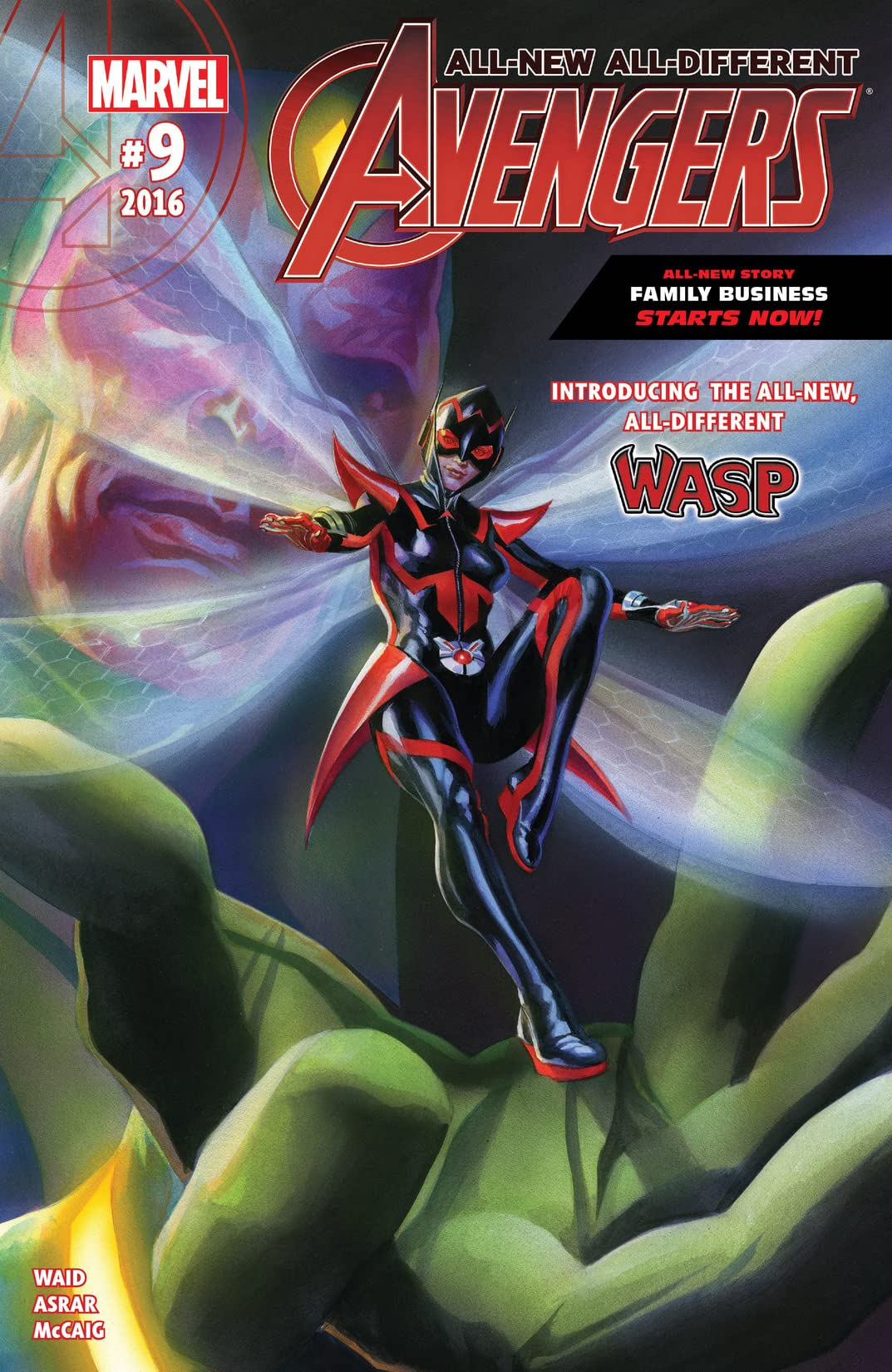 All-New, All-Different Avengers (2015-2016) #9