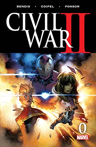 Civil War II (2016-) #0