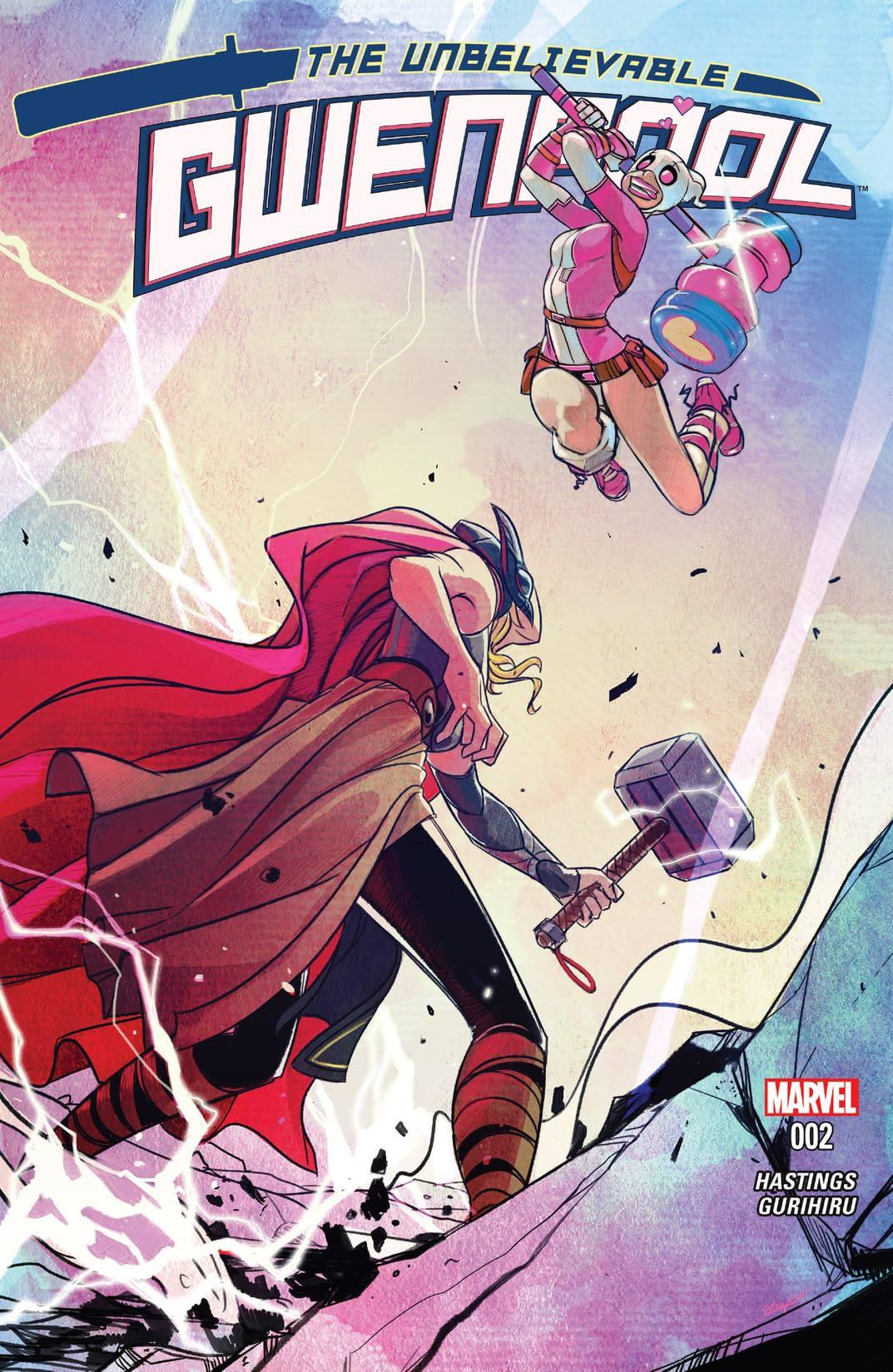 Gwenpool, The Unbelievable (2016-2018) #2