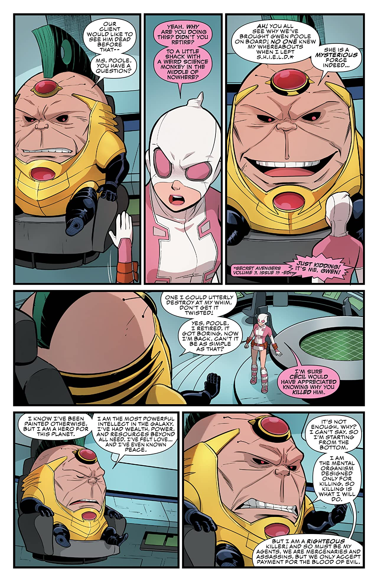 Gwenpool, The Unbelievable (2016-) #2
